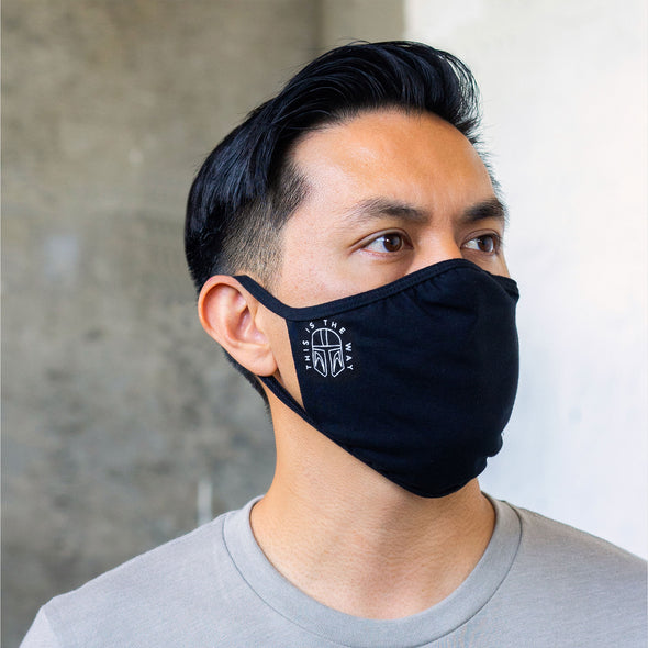 THIS IS THE WAY | Face Mask | Black