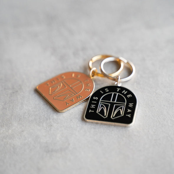 THIS IS THE WAY | Keychain | Silver