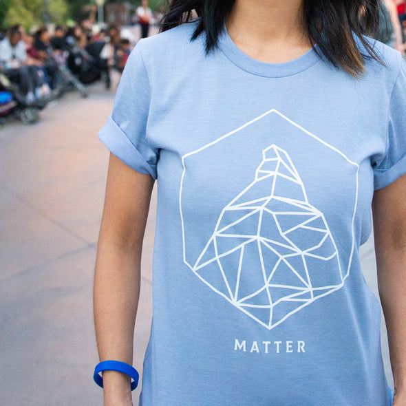 MATTER | Tee | Heather Blue