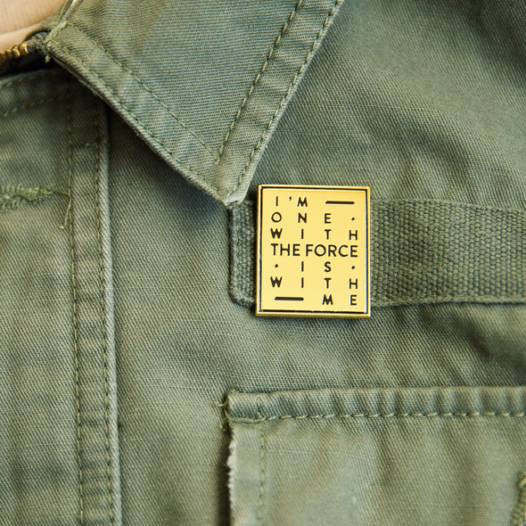 THE FORCE | Pin | Gold