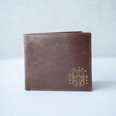 THIS IS THE WAY | Leather Wallet