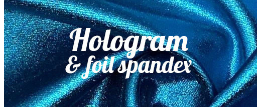 Hologram And Foil Spandex