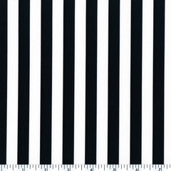 scp312-09  | stripes, black & White Printed Spandex
