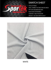 SP-0626 | Moisture Management Mesh and PQ | White for Sublimation - Coming Soon