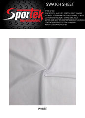 SP-SJ8 Sportek Spun Poly stretch Jersey 220GSM PFP White for sublimation