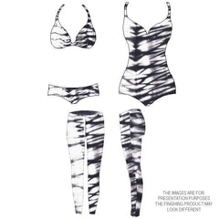 TFX796 | tie - dye, abstract, monotone, black & White