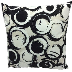 Throw Pillow Case Cover Circles & Dots
