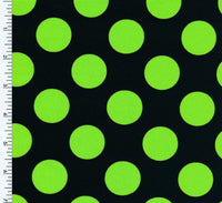 1 POLKA DOT | simple, polka dot, circle Nylon Spandex Tricot Matte