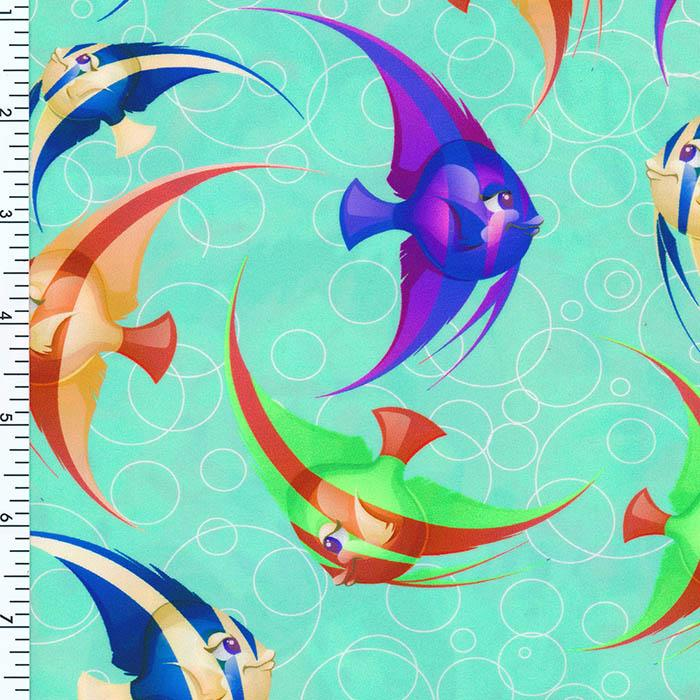 SP-NP2630 Fish & Fish Nylon Spandex Digitally Wet Print | swimwear Print | Yoga wear Print | Legging Print Spandex, Wet Print- Spandexbyyard - fabrics, fabric for swimwear, fabric for yogawear, swimwear fabric, yogawear fabric, fabric sublimation, sublimation fabric, los angeles, california, usa, spandex, sale, swimwear, yoga wear, lycra, shiny, neon, printed, fabric by the yard, spandex lycra, nylon lycra, lycra fabric