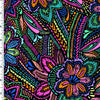 SP-NP2692 Textured Floral Nylon Spandex Digitally Wet Print