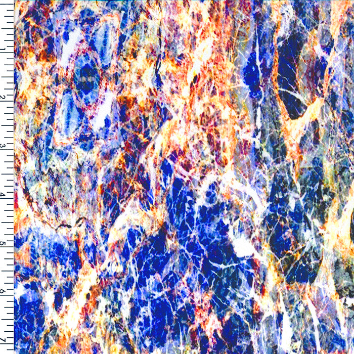 SP-NP2719 Milano Marble Stone Nylon Spandex Digitally Wet Print