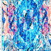 SP-NP2720 Arctic Marble Stone Nylon Spandex Digitally Wet Print