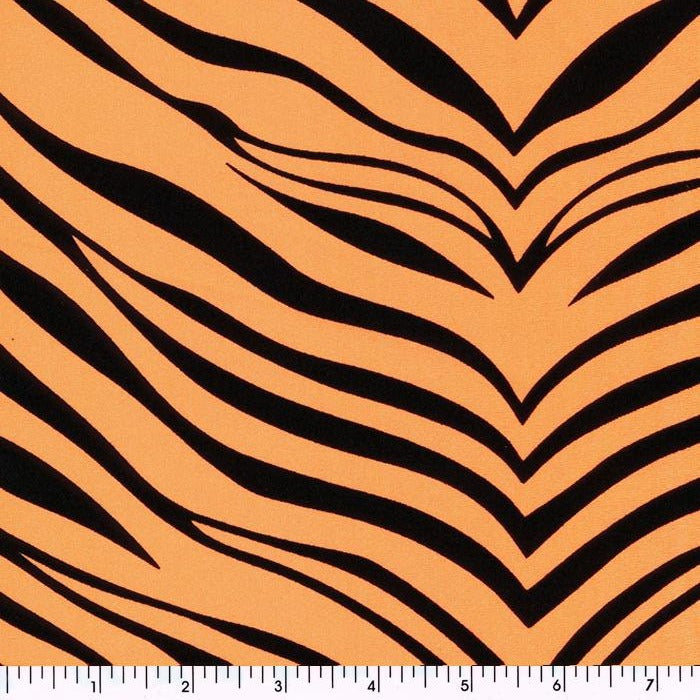 Zebra Tricot NOrange Tiger, Zebra, Animal, Africa Poly & Nylon Spandex Tricot Prints Spandex, Printed Spandex- Spandexbyyard - fabrics, fabric for swimwear, fabric for yogawear, swimwear fabric, yogawear fabric, fabric sublimation, sublimation fabric, los angeles, california, usa, spandex, sale, swimwear, yoga wear, lycra, shiny, neon, printed, fabric by the yard, spandex lycra, nylon lycra, lycra fabric