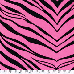 Zebra Tricot NPink Poly & Nylon Spandex Tricot Prints Spandex, Printed Spandex- Spandexbyyard - fabrics, fabric for swimwear, fabric for yogawear, swimwear fabric, yogawear fabric, fabric sublimation, sublimation fabric, los angeles, california, usa, spandex, sale, swimwear, yoga wear, lycra, shiny, neon, printed, fabric by the yard, spandex lycra, nylon lycra, lycra fabric