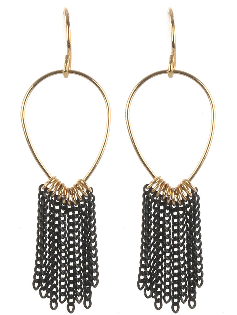 Gypsy Warrior Fringe Earrings
