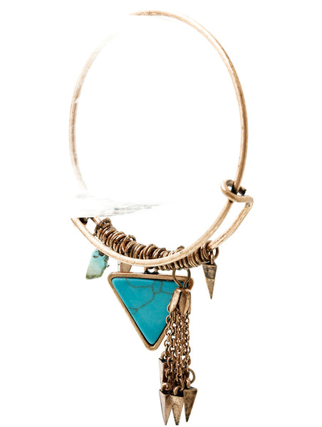 Gypsy Bangle Arrowhead Bracelet