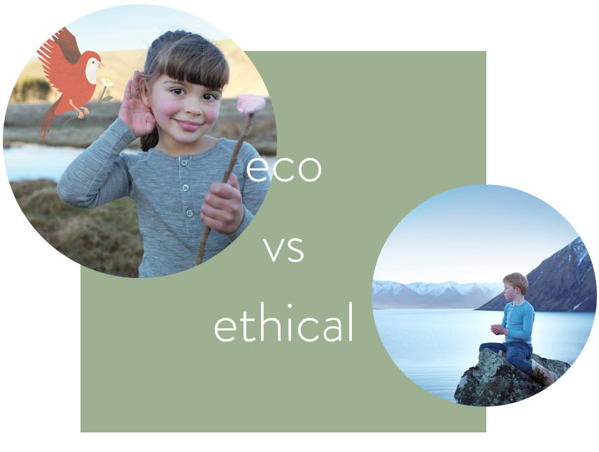 Eco fashion vs ethical fashion - is there a difference?