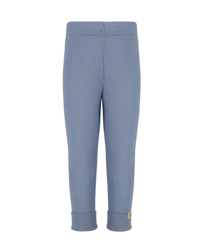 north sea blue rib leggings