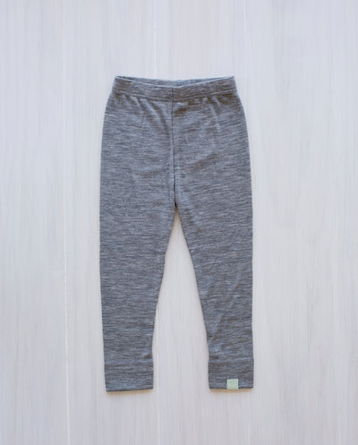 grey wool leggings for kids