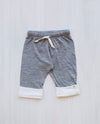 grey organic merino toddler pants