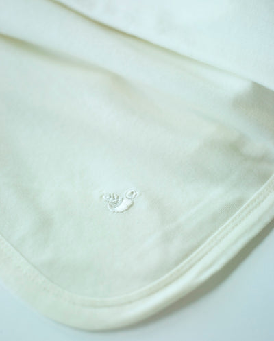 cream swaddle blanket for newborn babies