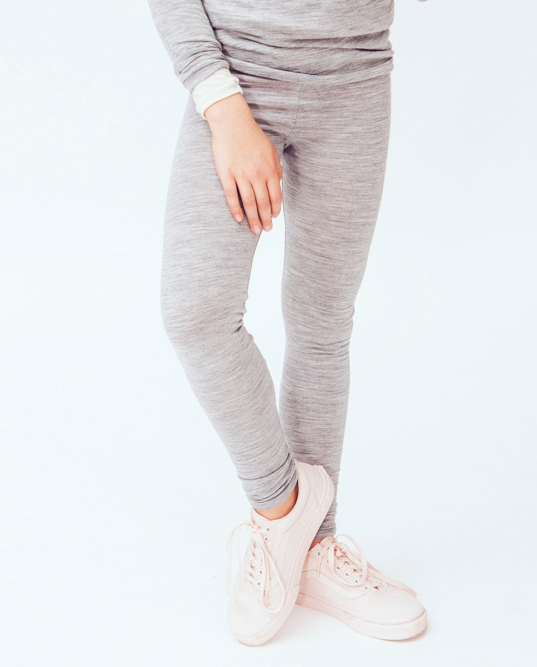 organic merino tweens leggings