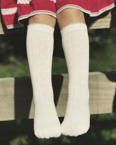merino socks knee high