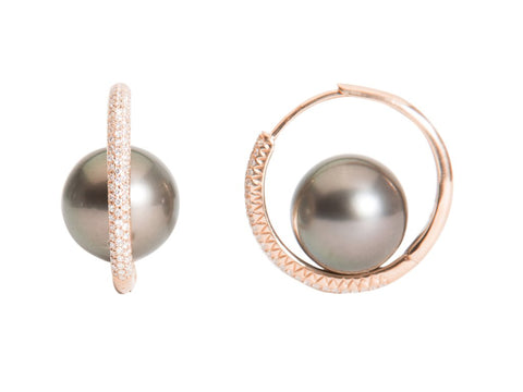 pearl orbit hoops