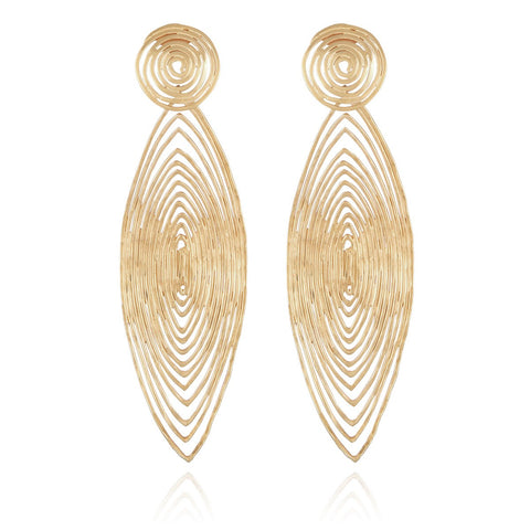 Long Wave earrings
