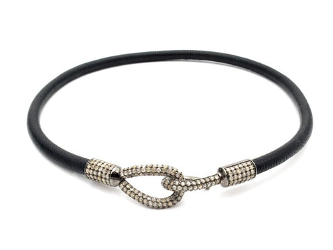Samira 13 leather choker
