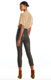 capri leather legging