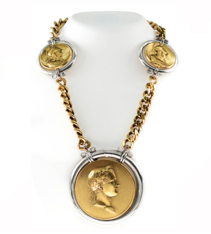 Oversized Coin Necklace