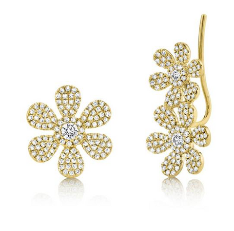 Flower Climber Stud Set