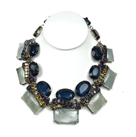 Iolite & Aquamarine Necklace