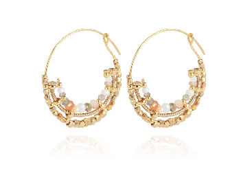 Comedia Serpi Hoop earrings