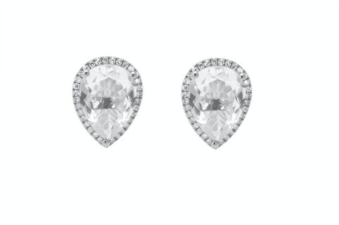 Topaz Stud earrings