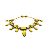 Erickson Beamon multi shaped drop necklace