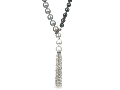 South Sea Pearl Strand Lariat