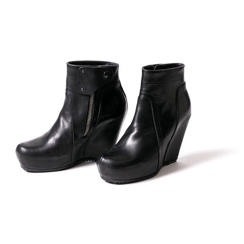 Rick Owens wedge booties