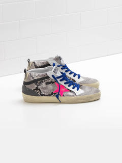 Snake Mid Star Sneakers