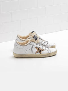 Shearling Superstar Sneaker
