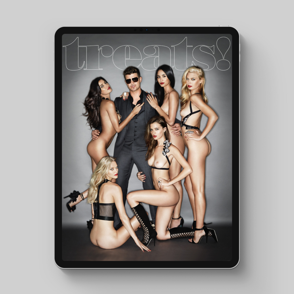 treats! Issue 6 - Robin Thicke