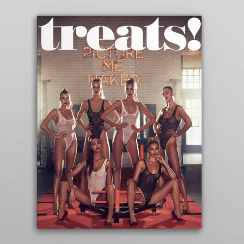 Treats Magazine - Fashion nude photography, TREATS! ISSUE 13 - STEVE SHAW