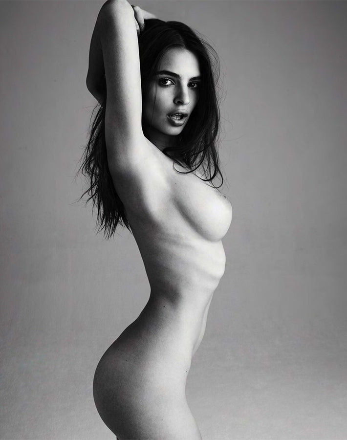 Treats Magazine - Fashion nude photography, treats! Issue 3 - Emily Ratajkowski