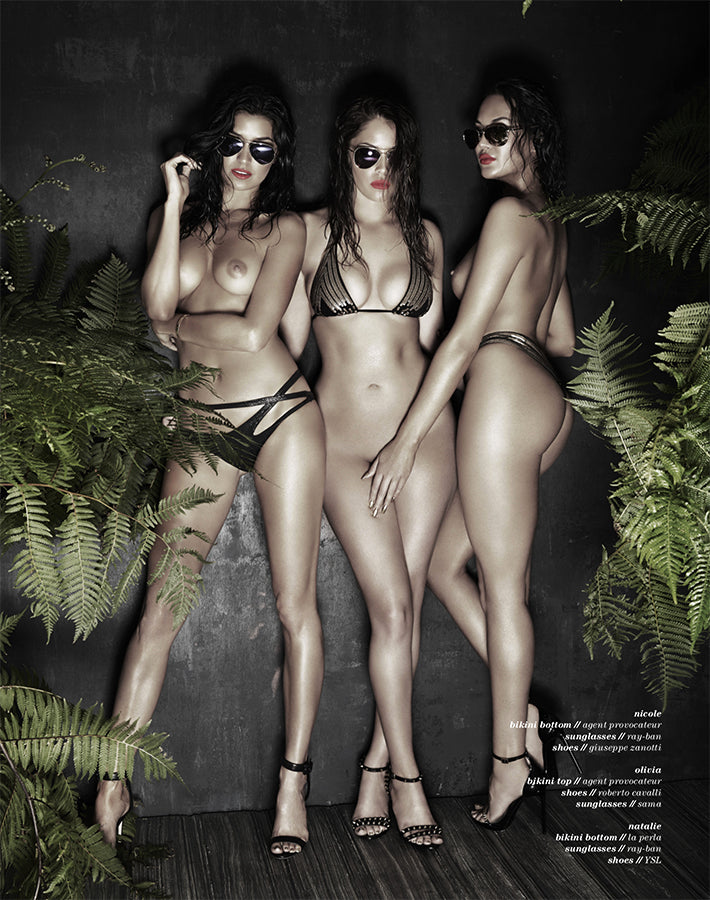 Treats Magazine - Fashion nude photography, treats! Issue 9 - Olivia Culpo, Julia Lescova, Nicole Williams, Olivia Pierson, Natalie Halcro