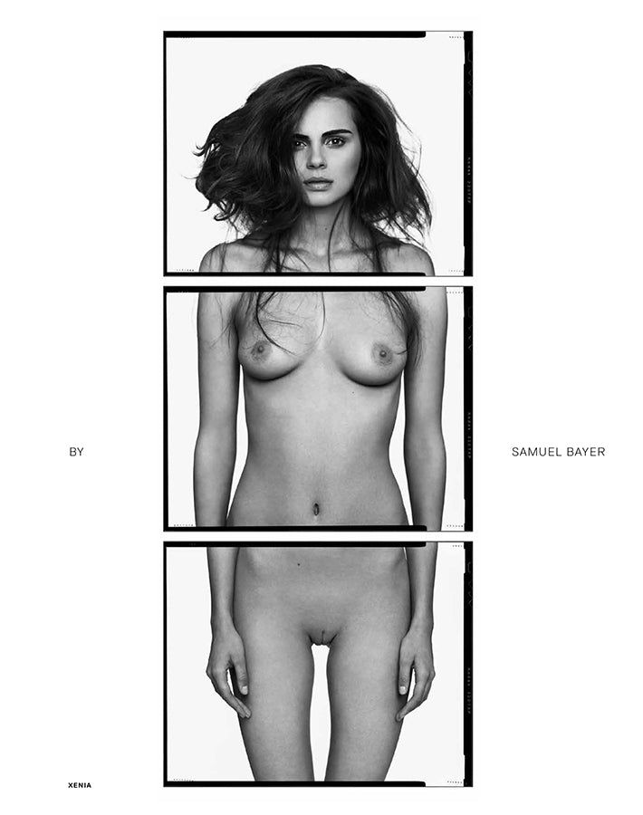 Treats Magazine - Fashion nude photography, treats! Issue 5 - Xenia Deli