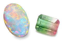 October's Birthstone's: Opal & Tourmaline  | Once Upon A Diamond