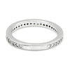 Once Upon A Diamond Band Platinum Round Diamond Milgrain Wedding Band Anniversary Ring Platinum