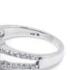 Once Upon A Diamond Engagement Ring White Gold Princess Diamond Halo Engagement Ring White Gold 1.01ctw