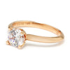 Once Upon A Diamond Semi Mount Rose Gold Noam Carver Solitaire Engagement Ring Semi-Mount Rose Gold